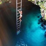 Blue hole Mineral spring